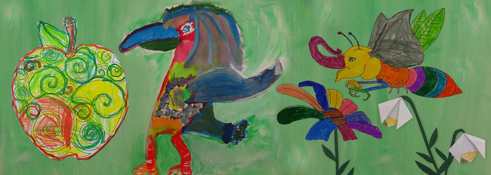 Grundschule Inchenhofen Zeichnung